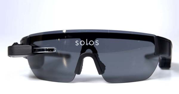 Solos Smart Cycling Glasses with a Head-Up Display