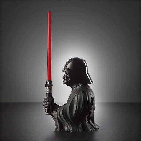 Star Wars Darth Vader Pen Holder with Lightsaber Ballpoint Pen