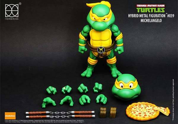 Teenage Mutant Ninja Turtles Hybrid Metal Action Figures
