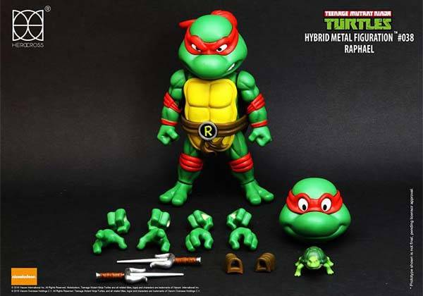 Teenage Mutant Ninja Turtles Hybrid Metal Action Figure
