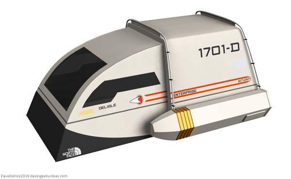 Concept Star Trek Shuttlecraft Camping Tent