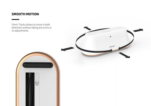 The Futuristic Robot Vacuum Cleaner with Smartphone Connectivity and Auto Bin Emptying