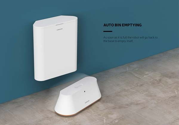 The Futuristic Robot Vacuum Cleaner With Auto Bin Emptying
