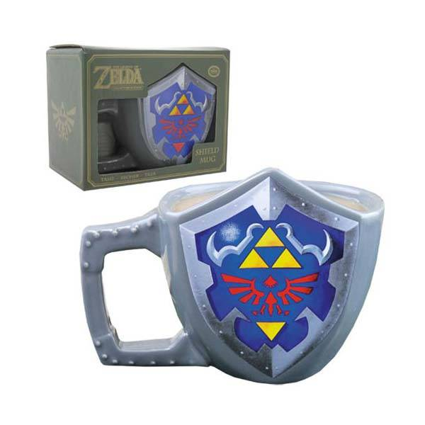 The Legend of Zelda Hyrulian Shield Coffee Mug