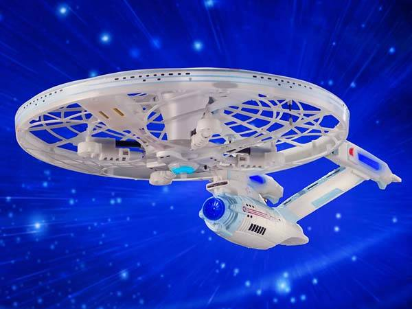 Star Trek RC U.U.S. Enterprise Quadcopter