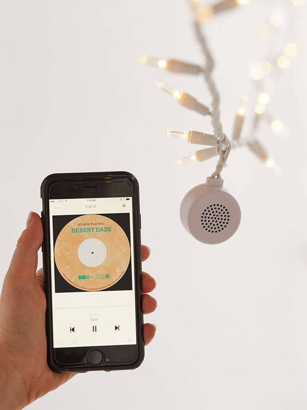 The String Light Boasts Integrated Bluetooth Speaker