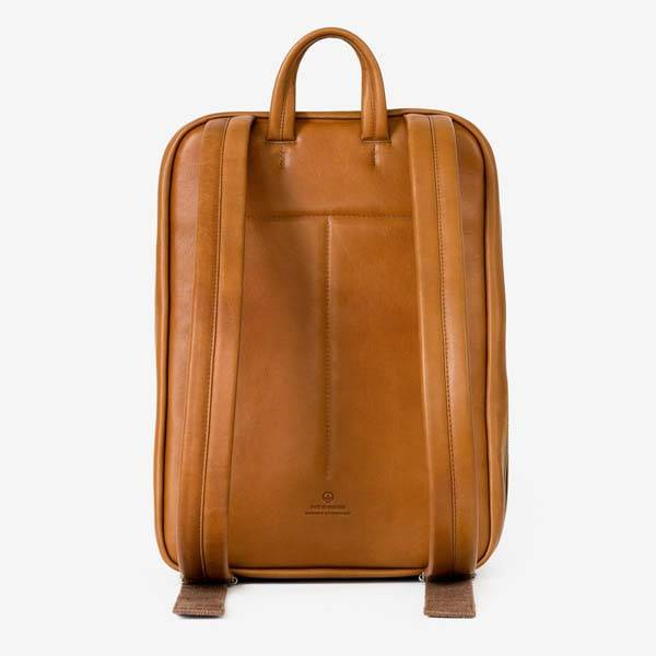 This Is Ground Venture Leather Backpack