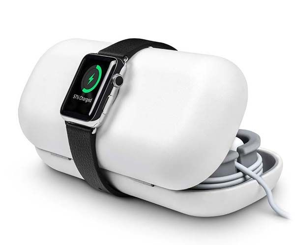 Twelve South TimePorter Apple Watch Charging Stand Doubles as Travel Case