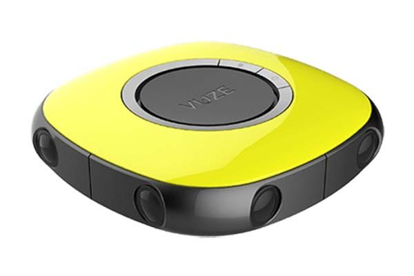 Vuze 3D 360-Degree VR Camera Boasts 4K Video Recording
