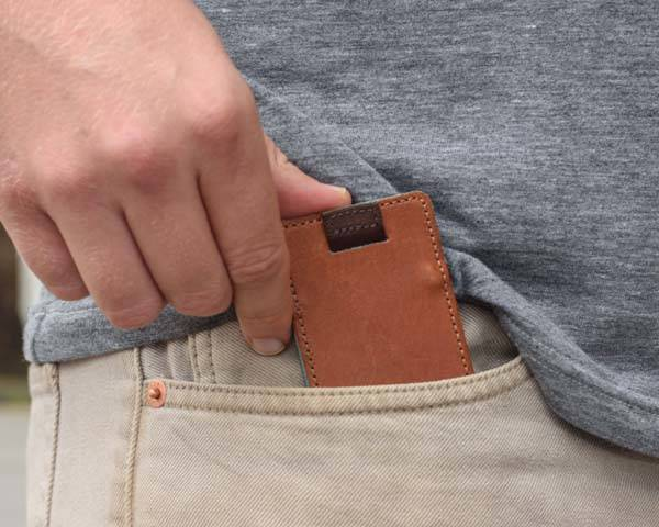 Wally Micro Minimal Leather Wallet