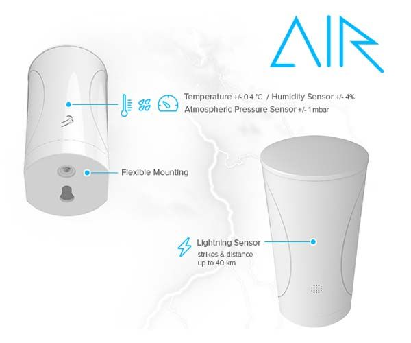 WeatherFlow Air and Sky Smart Weather Stations