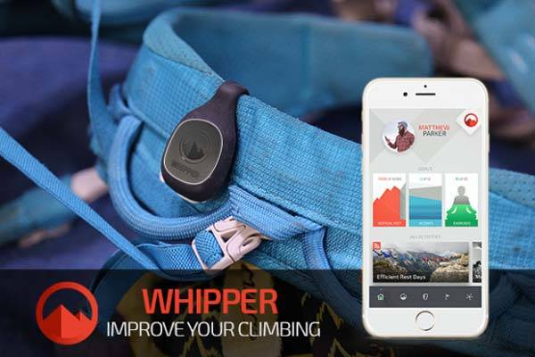 Whipper Wearable Climbing Performance and Fitness Tracker