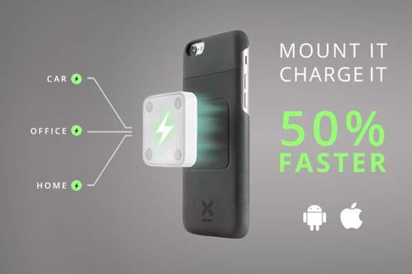 XVIDA Mountable Qi wireless charger