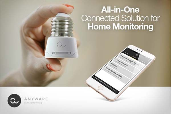 Anyware Smart Lamp Socket Adapter