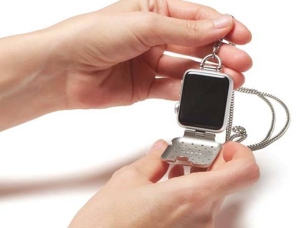Bacardo Hammered Cover Transforms Your Apple Watch into a Pocket Watch