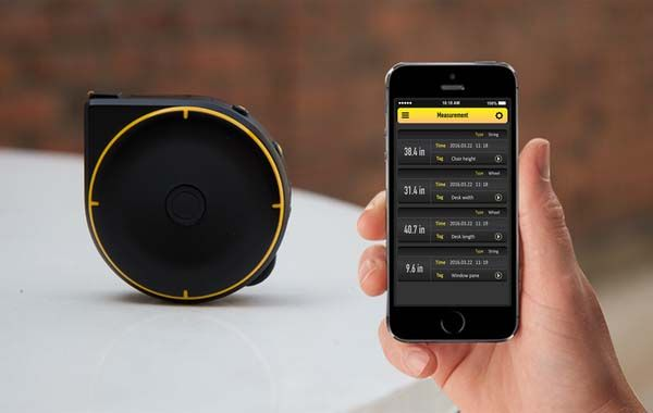 Bagel Bluetooth-enabled Smart Tape Measure