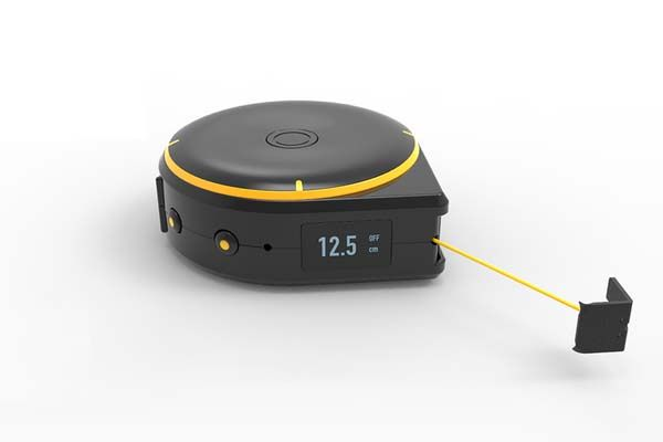 Bagel Bluetooth Enabled Smart Tape Measure With Three