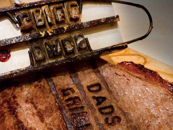 BBQ Branding Iron Customize Your BBQ with 55 Letters