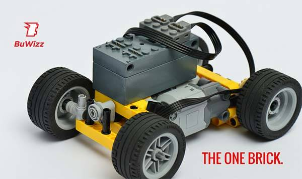 BuWizz App-Controlled Module for LEGO Creations