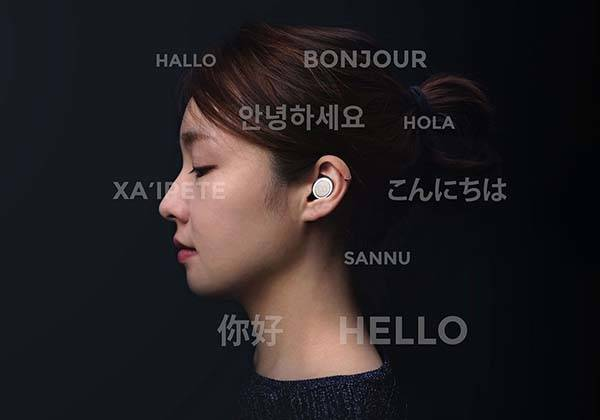 Click Ultra Compact Wireless Earbuds with Charging Case