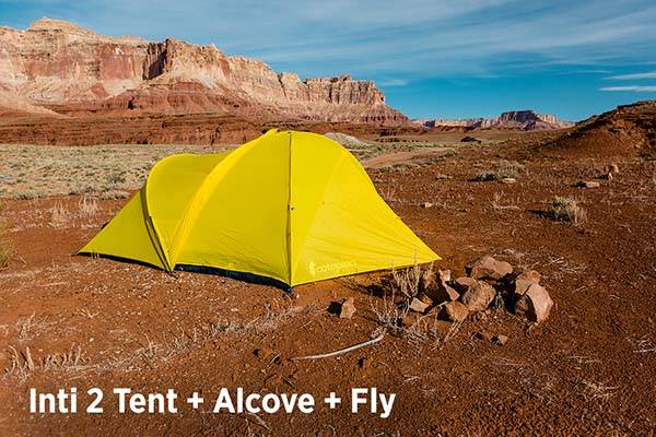 Cotopaxi Inti 2 Camping Tent with Alcove Snap-in
