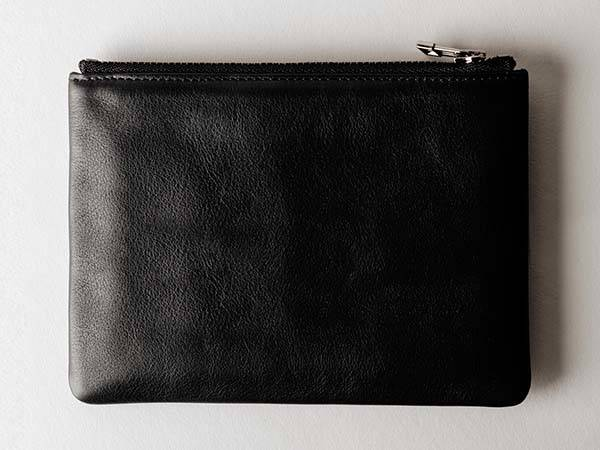 Hard Graft Leather Zip Passport Wallet