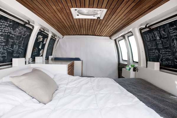 How to Convert Cargo Van into Camper Van
