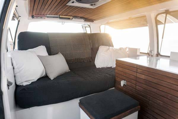 How to Convert Cargo Van into Camper Vang