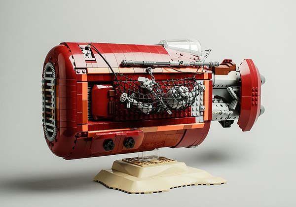 Star Wars UCS LEGO Rey's Speeder