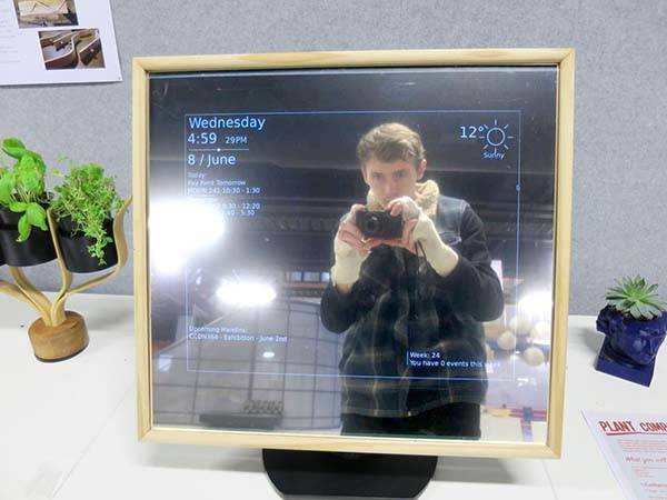 Make the $100 Smart Mirror Powered by Raspberry Pi by Yourself