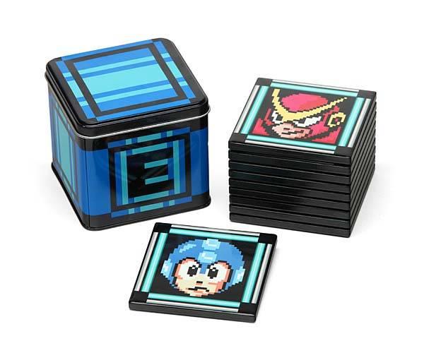 Mega Man II Drink Coaster Set