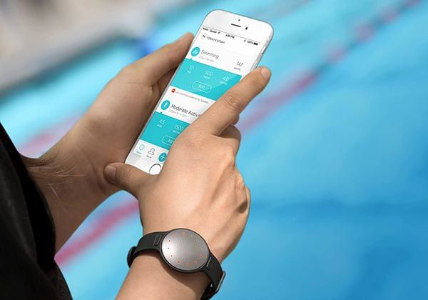 Fitness And Sleep Monitor Misfit Shine Speedo Edition Swim
