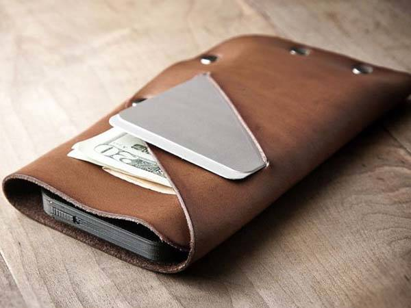 Mr. Lentz Slim Leather iPhone Wallet