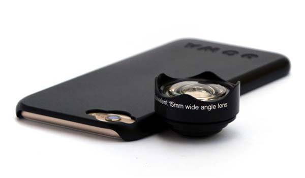 how to take wide angle photos with iphone 6