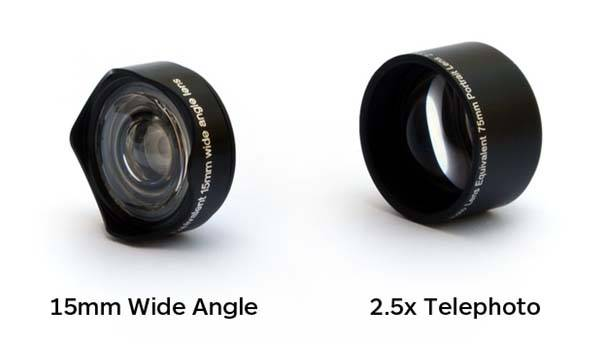OOWA Telephoto and Wide-Angle Lenses for iPhone 6s/6s Plus Case