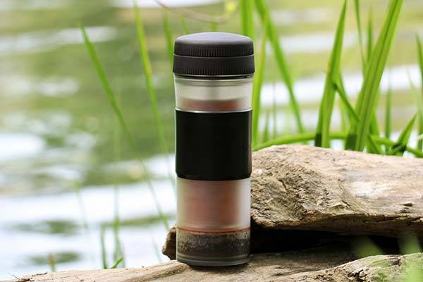 Pascal Press Travel Mug with Portable Coffee Maker