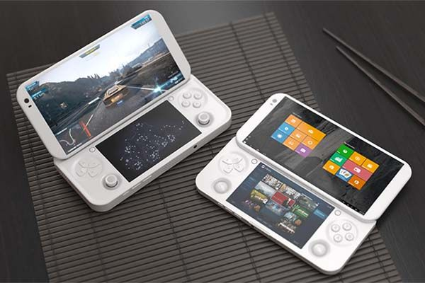pgs handheld game console lets us play pc games on the move gadgetsin. Black Bedroom Furniture Sets. Home Design Ideas