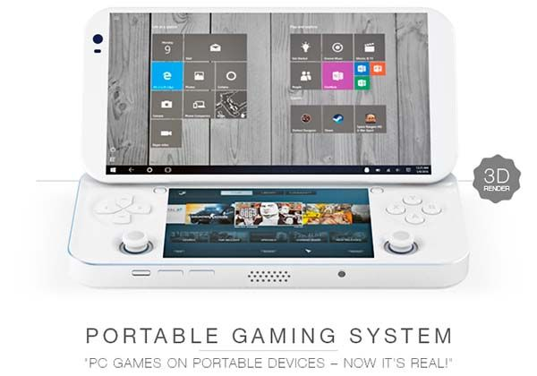 PGS Handheld Game Console Lets Us Play PC Games on the Move