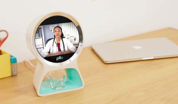 Pillo Home Smart Health Robot with Pill Dispenser
