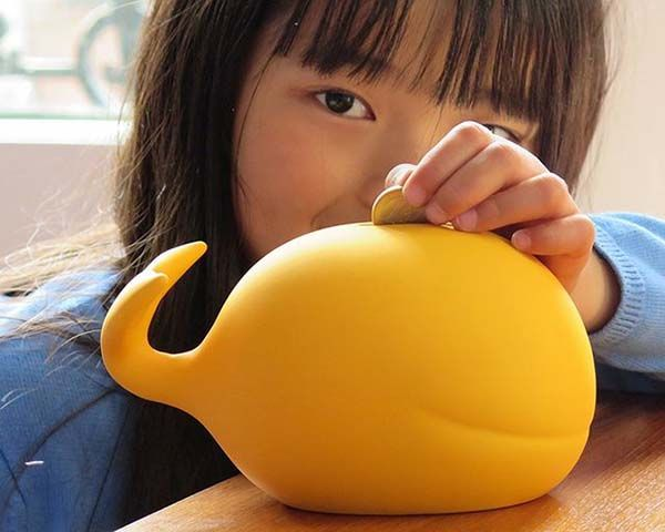 Save The Whale Money Bank