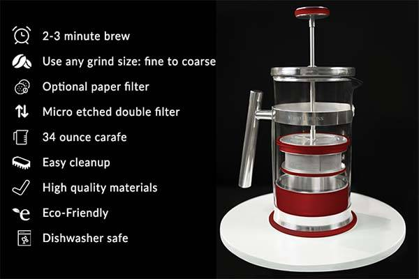 Simpli Press Coffee Maker