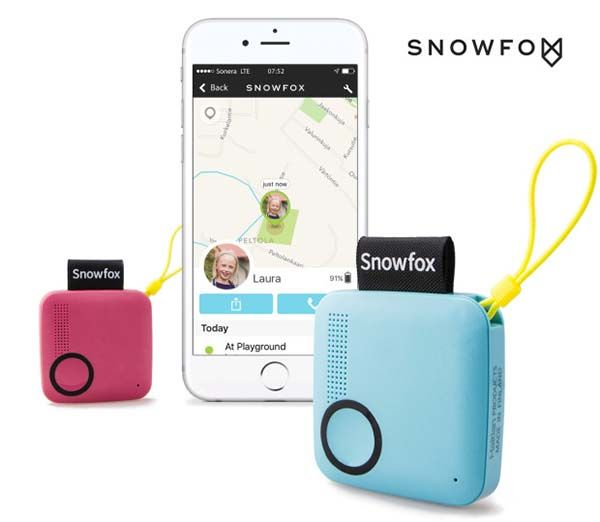 Snowfox Trackerphone with GPS Locator for Kids