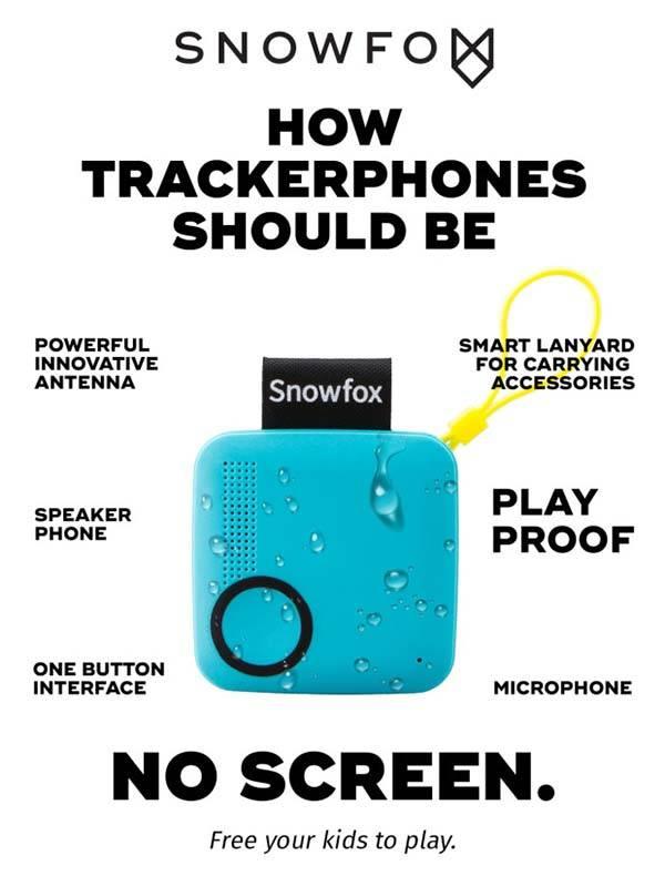 Snowfox Trackerphone with GPS Locator for Kids