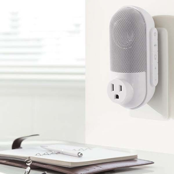 SpeakOut Portable Bluetooth Speaker with an AC Outlet