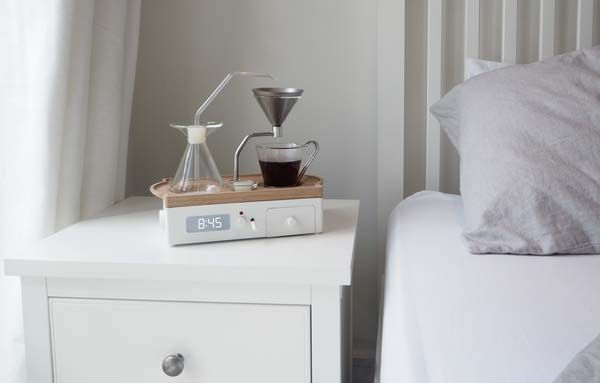 Barisieur Tea and Coffee Maker with Alarm Clock