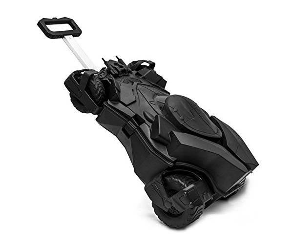Batman Batmobile Rolling Luggage for Kids
