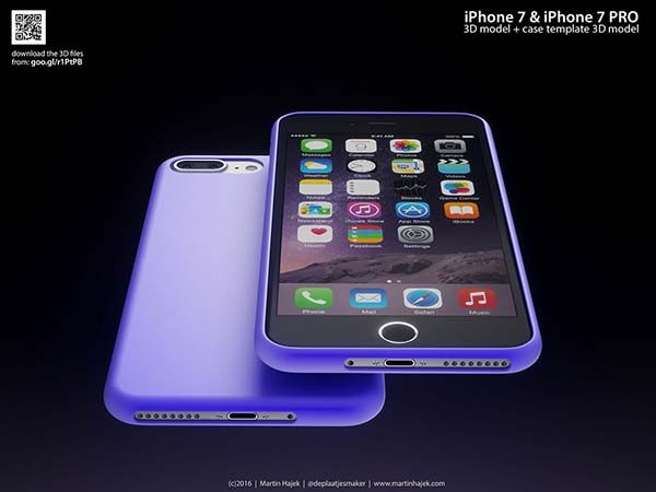 Concept iPhone 7 and iPhone 7 Pro
