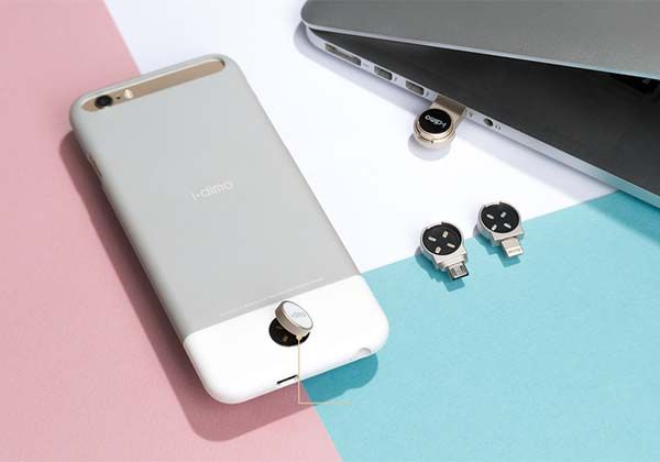 The i.dime iPhone Case Shows off a Detachable Magnetic Storage Device