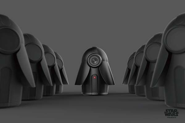 The Star Wars Home Security Camera Inspired By Darth Vader