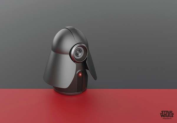 Star Wars Darth Vader Home Security Camera